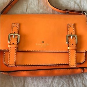 Kate Spade Orange Crossbody Purse